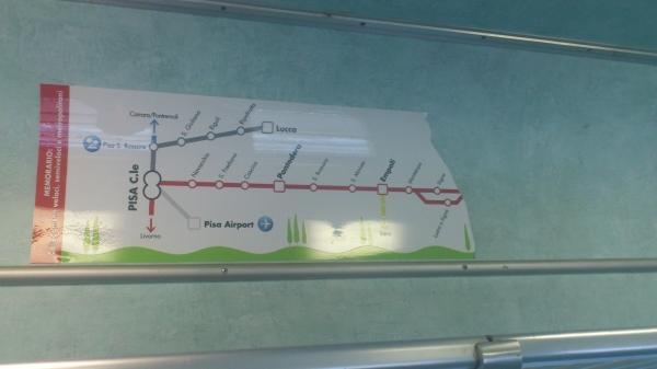 Cartina ferroviaria
